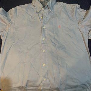 Men's polo dress shirt